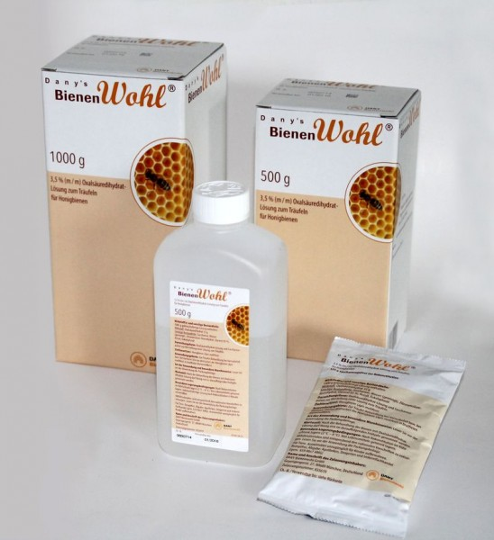 Dany`s Bienenwohl® Oxalsäure Dihydrat Lösung zur Varroabehandlung 500 ml