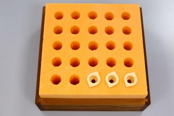 Weiselzellen-Transportbox für 25 Zellen