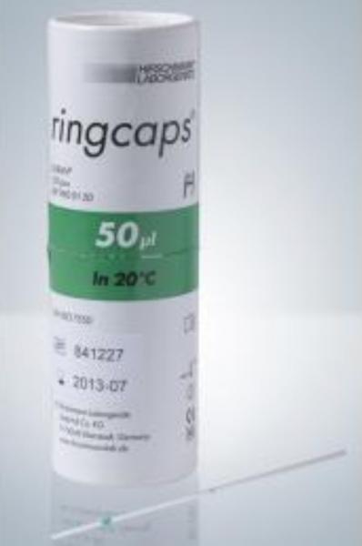 Ringcaps® 50 µl 10 Stück