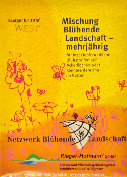 Saatgut »Blühende Landschaft WEST« 10 m²