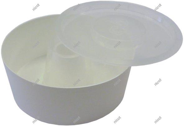Nicot Fütterer rund mit einem Durchmesser von 21,5 cm