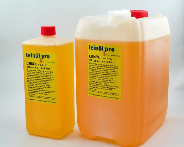 Leinöl roh 5 Liter